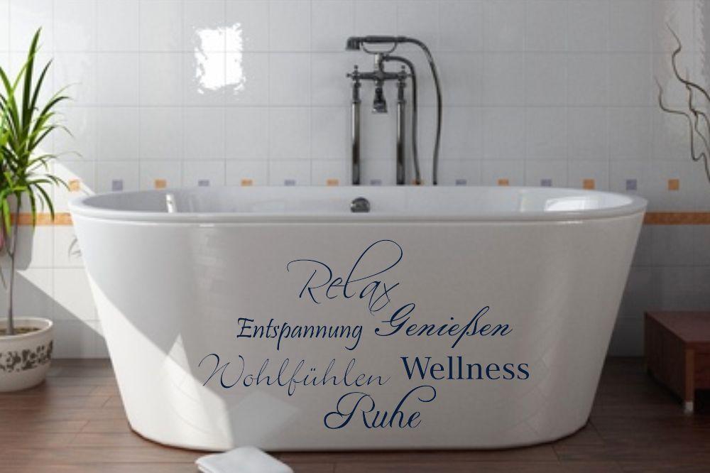badezimmer wandtattoos und wandschablonen f r fliesen und glasfl chen von. Black Bedroom Furniture Sets. Home Design Ideas