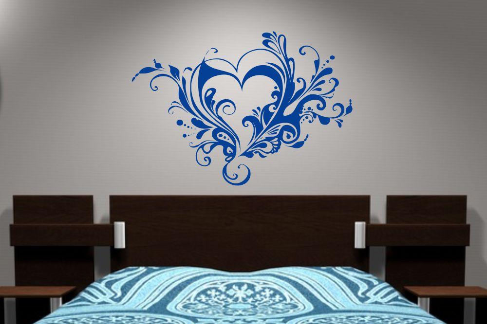 abstrakte dekorative ornamente retro wandtattoos und wandschablonen von. Black Bedroom Furniture Sets. Home Design Ideas