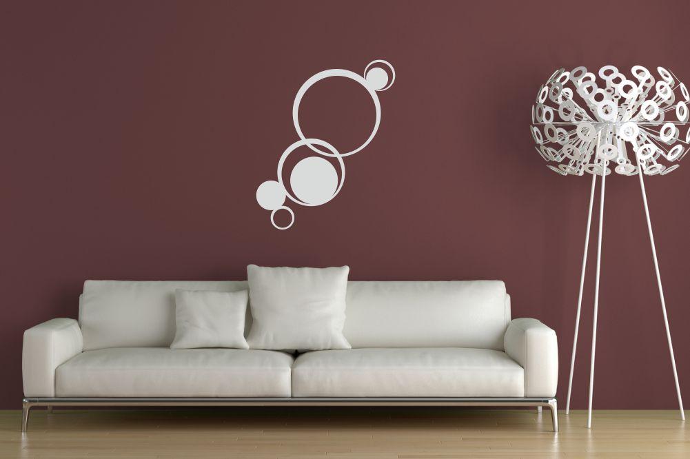 Abstrakte dekorative ornamente retro wandtattoos und wandschablonen von - Wandgestaltung afrika style ...