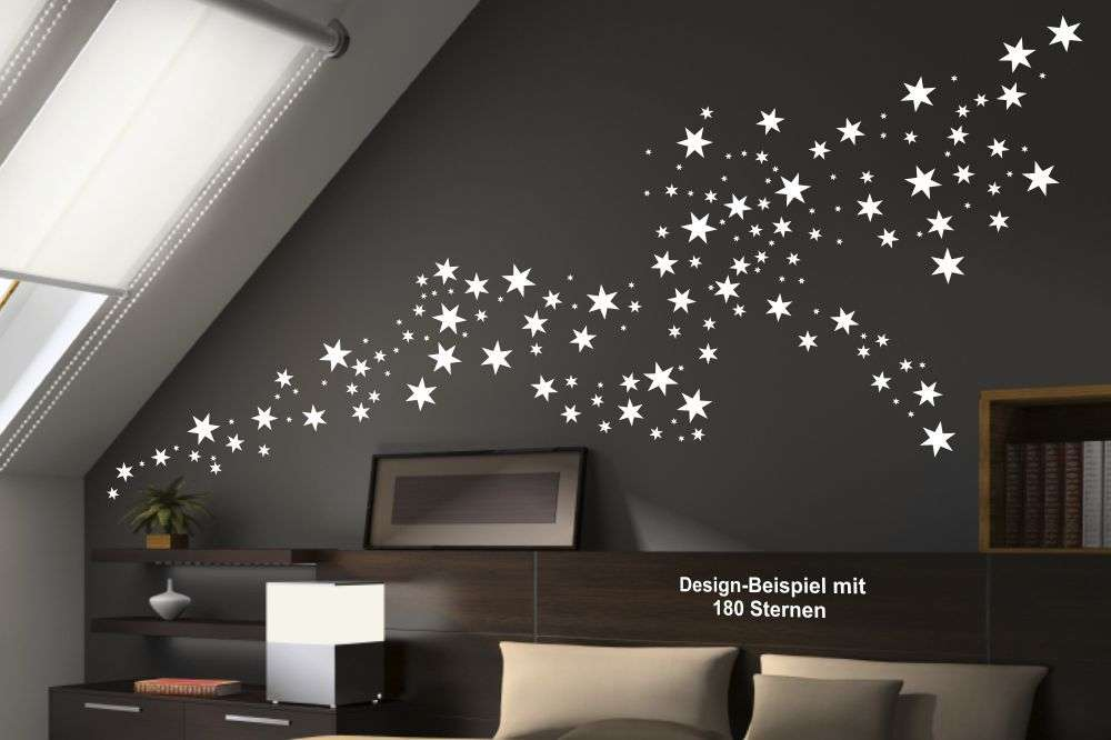 Wandtattoo - Sterne Set | wandtattooshop24.de