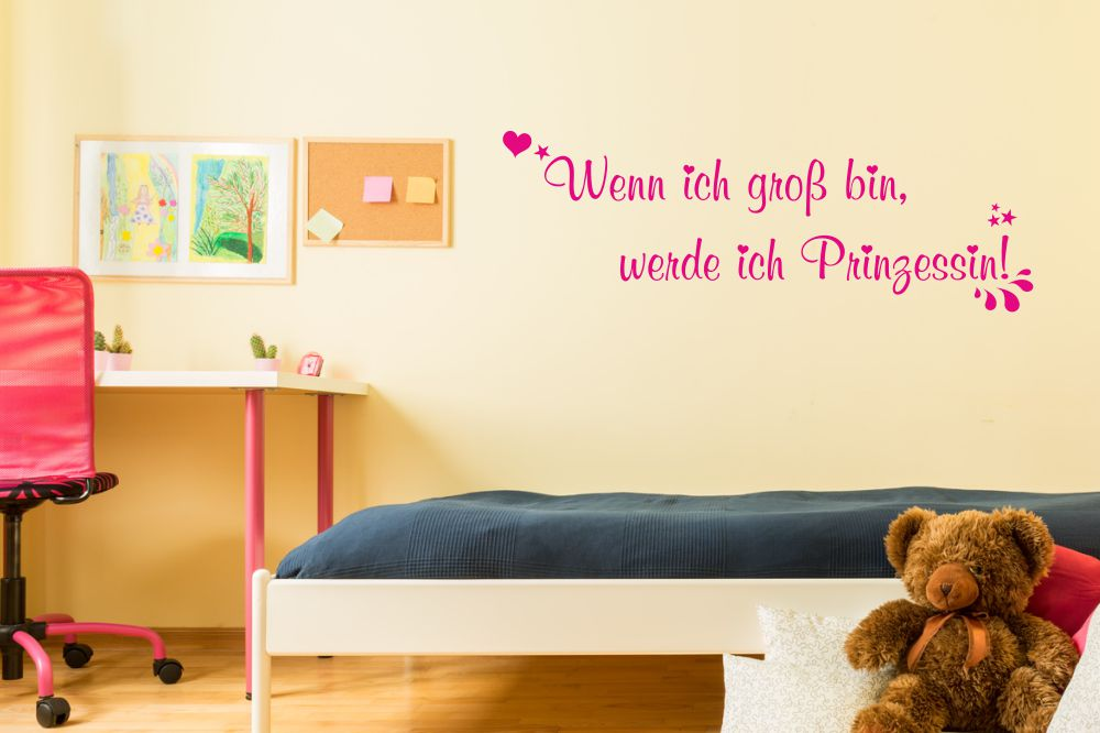 wandtattoos und wandschablonen mit motiven f r kinder von jetzt online. Black Bedroom Furniture Sets. Home Design Ideas