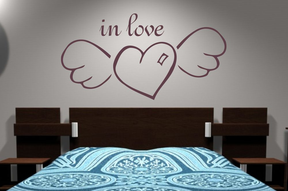Wandtattoo In Love Wandtattooshop24 De